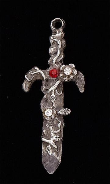 107: Silver Sword Pendant