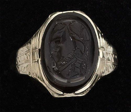 111: Man's Cameo Ring