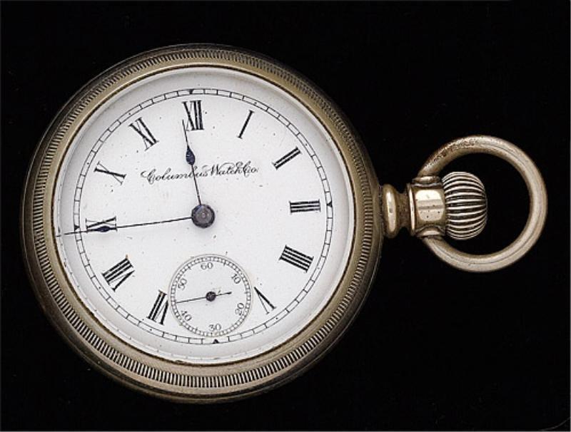 115: Open Face Pocket Watch, Columbus Watch Co.
