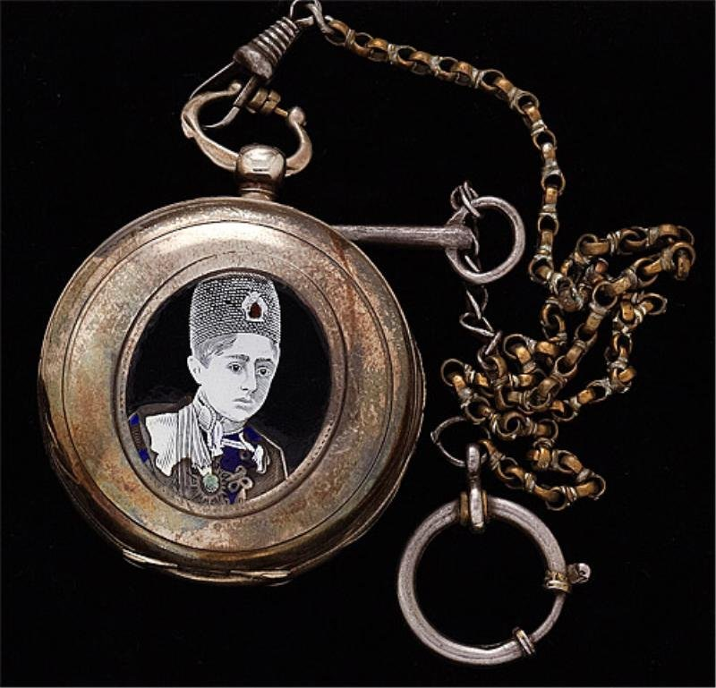 116: E. Sarkisian key wind Swiss made pocket watch