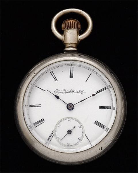 117: Open Face Pocket Watch, Elgin
