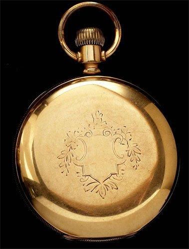 118: Hunting Case Pocket Watch, Elgin