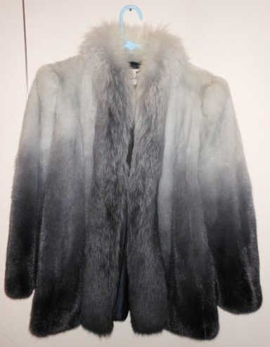 319: Blue mink jacket