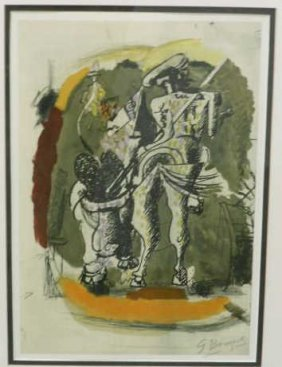 AFTER GEORGE BRAQUE, FRENCH (1882-1963)