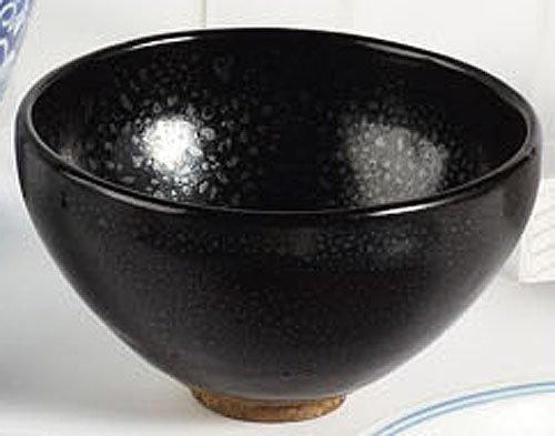 292: CHINESE HARE'S FUR BLACK GLAZED TEA BOWL