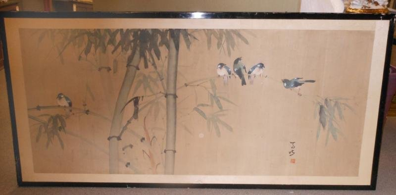 355: CHINESE WATERCOLOR ON RICE PAPER