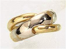 630 GOLD TWO TONE FASHION RING
