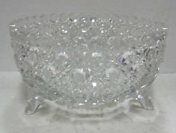 1: BRILLIANT CUT GLASS BOWL