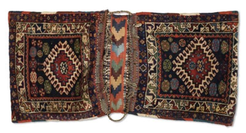 528: KURDISH SADDLE BAG, EARLY 20TH CENTURY