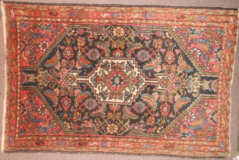 531: NORTHWEST PERSIAN MAT, CIRCA 1930