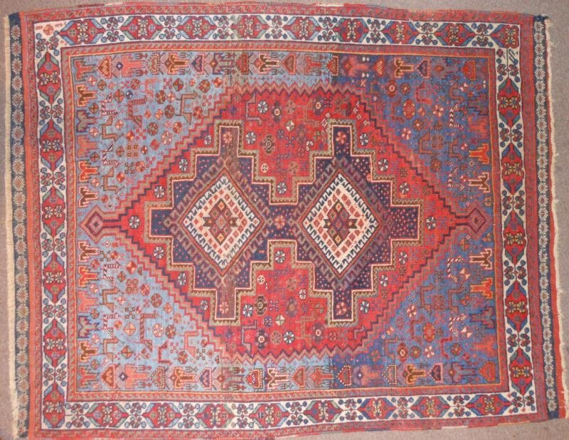 542: AFSHAR CARPET, SOUTH PERSIA, EARLY 20TH CENTURY
