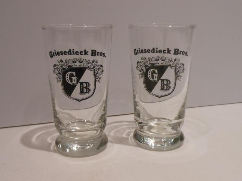 SET OF TWELVE GRIESEDIECK GLASSES