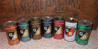 GRIESEDIECK BROTHERS VINTAGE BEER CAN COLLECTION
