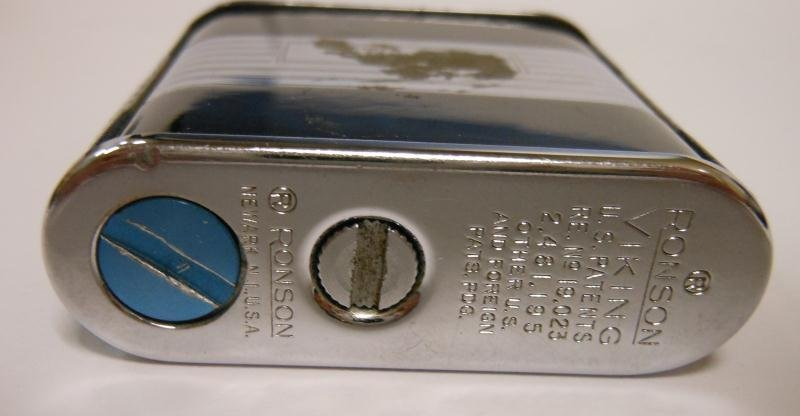 RONSON VIKING LIGHTER IN ORIGINAL BOX - 5