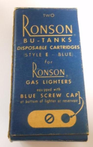 RONSON VIKING LIGHTER IN ORIGINAL BOX - 8