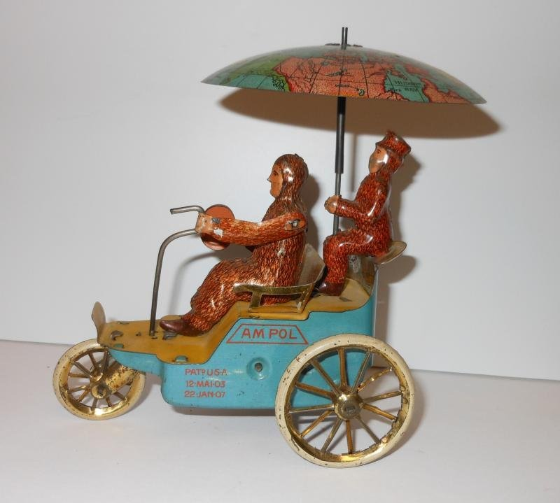 LEHMANN 'AM POL' WIND UP TOY