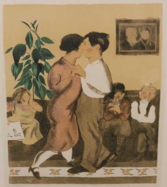 RAPHAEL SOYER, AMERICAN (1899-1987)
