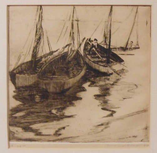 ILAH MARIAN KIBBEY, AMERICAN (1888-1958)