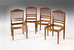 TIFFANY AND COLMAN SIDE CHAIRS