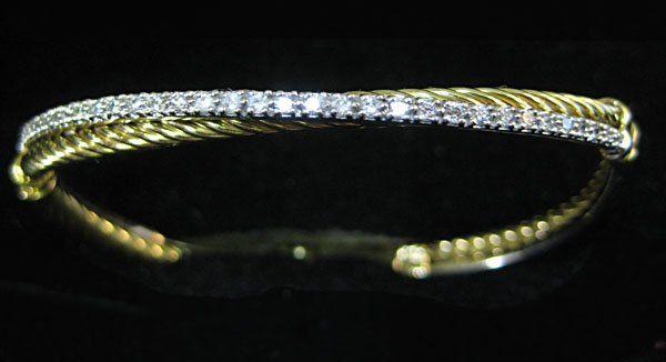 DIAMOND BANGLE BRACELET, DAVID YURMAN