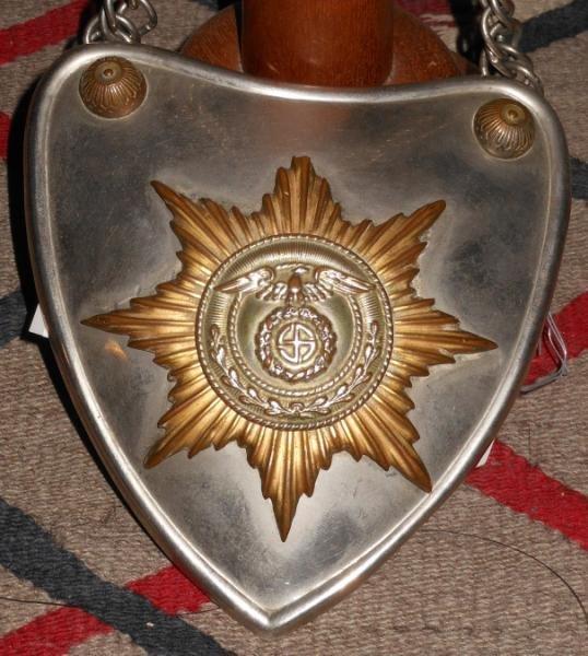 RARE WWII GERMAN SA GORGET IN ORIGINAL BOX