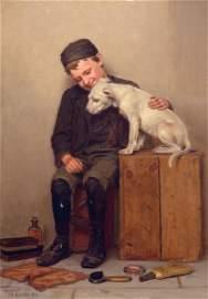 JOHN GEORGE BROWN, AMERICAN (1831-1913)