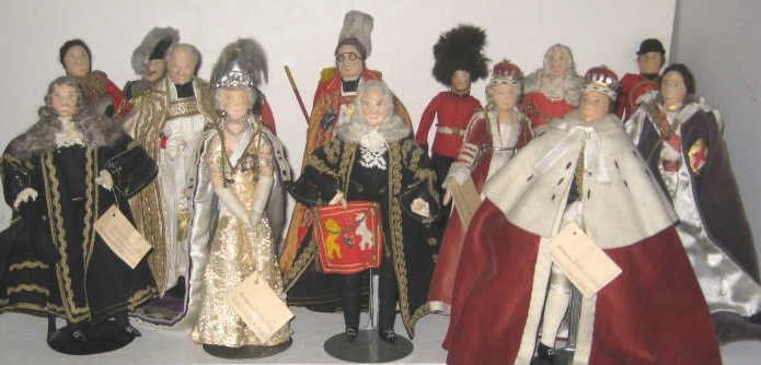 LIBERTY OF LONDON HISTORICAL CHARACTER DOLLS