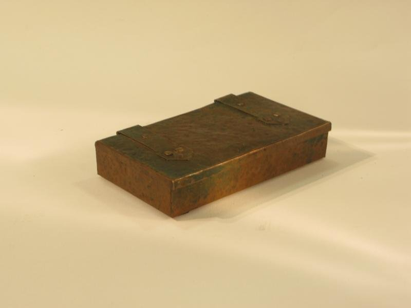 COPPER LIDDED BOX
