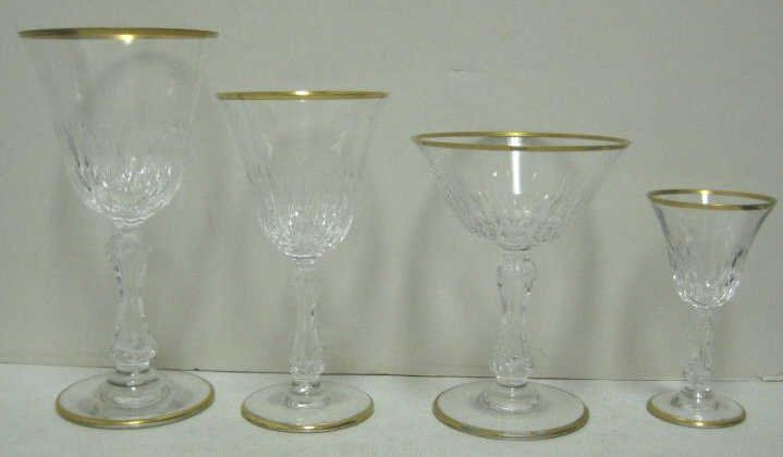 ST. LOUIS CRYSTAL, FRANCE, STEMWARE