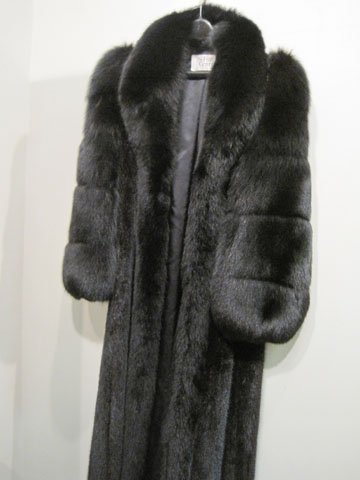 NATURAL RANCH MINK COAT