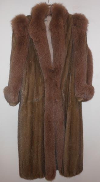 NATURAL AUTUMN HAZE MINK COAT