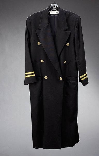 MILITARY STYLE COAT, CHRISTIAN DIOR