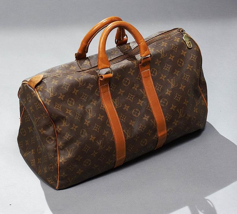 VINTAGE DUFFEL/WEEKENDER BAG, LOUIS VUITTON