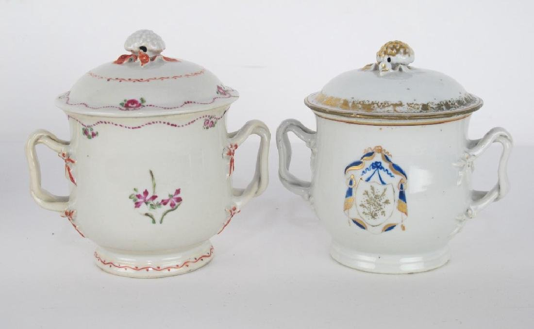 Two Lidded Jars and Teapot - 2