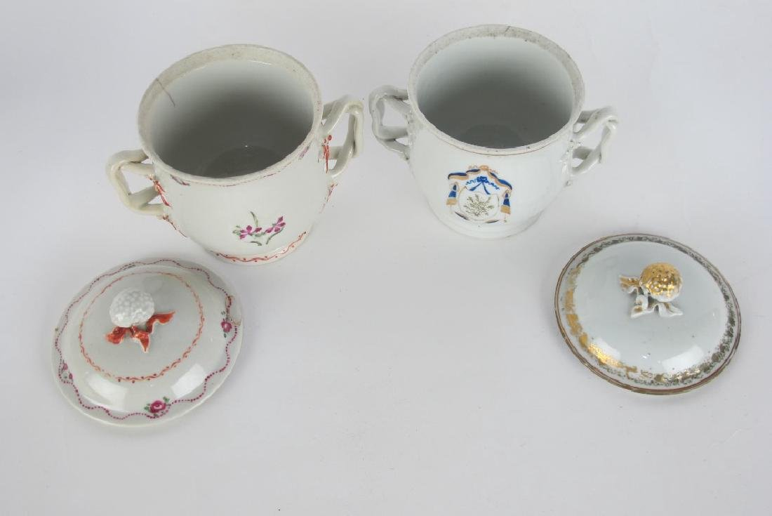 Two Lidded Jars and Teapot - 3