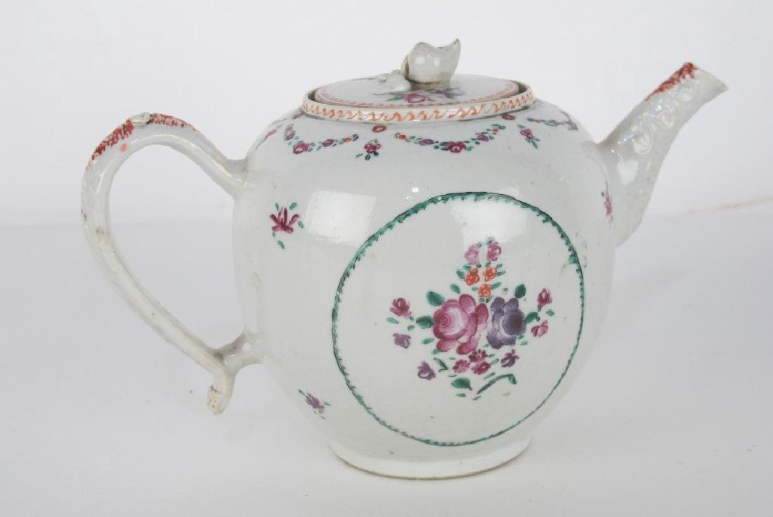 Two Lidded Jars and Teapot - 4
