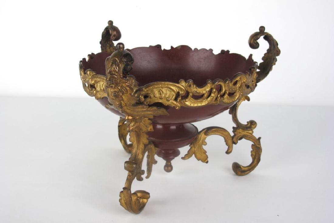 French Gilt Bronze Bowl