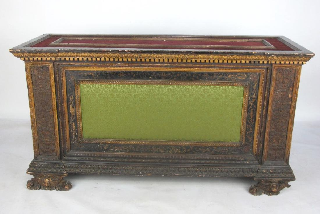 18th/19th C. Italian Polychrome Painted Chest