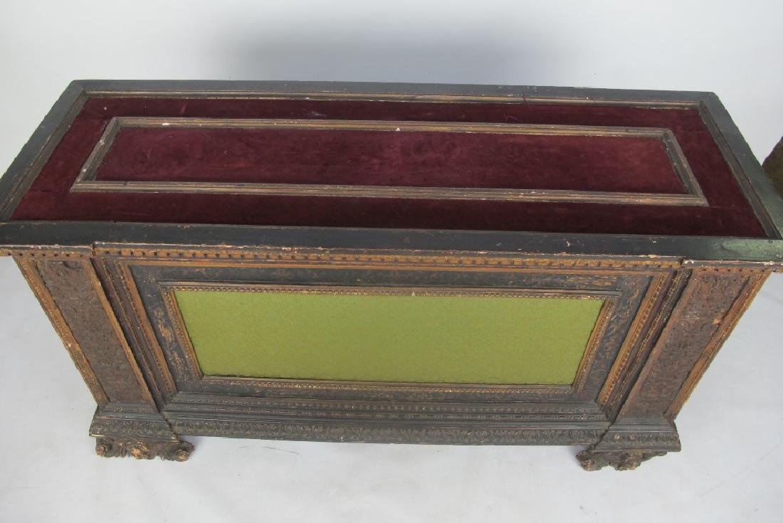 18th/19th C. Italian Polychrome Painted Chest - 2