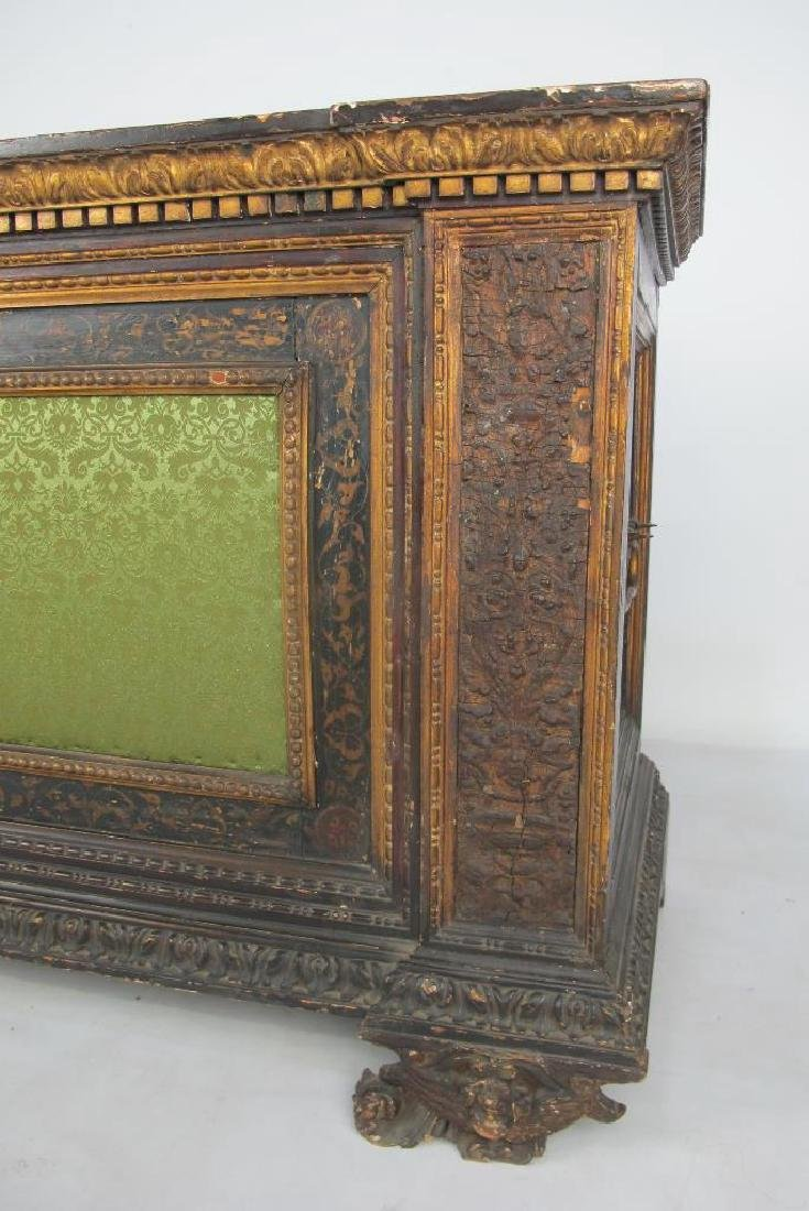 18th/19th C. Italian Polychrome Painted Chest - 3