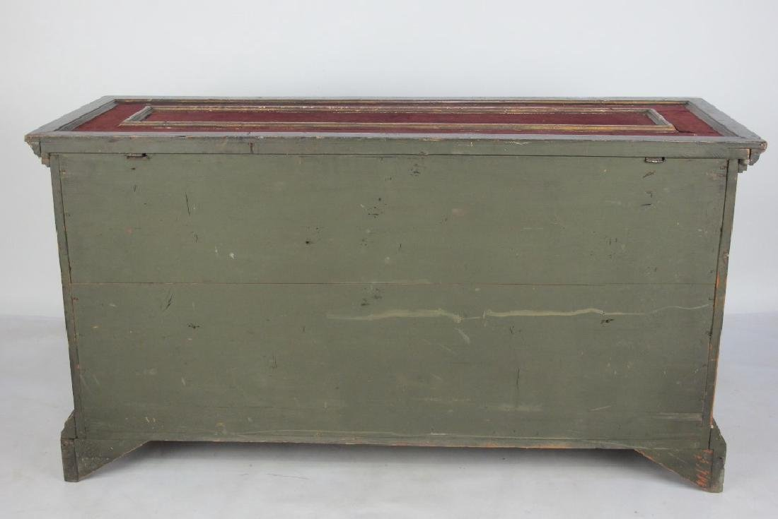 18th/19th C. Italian Polychrome Painted Chest - 9