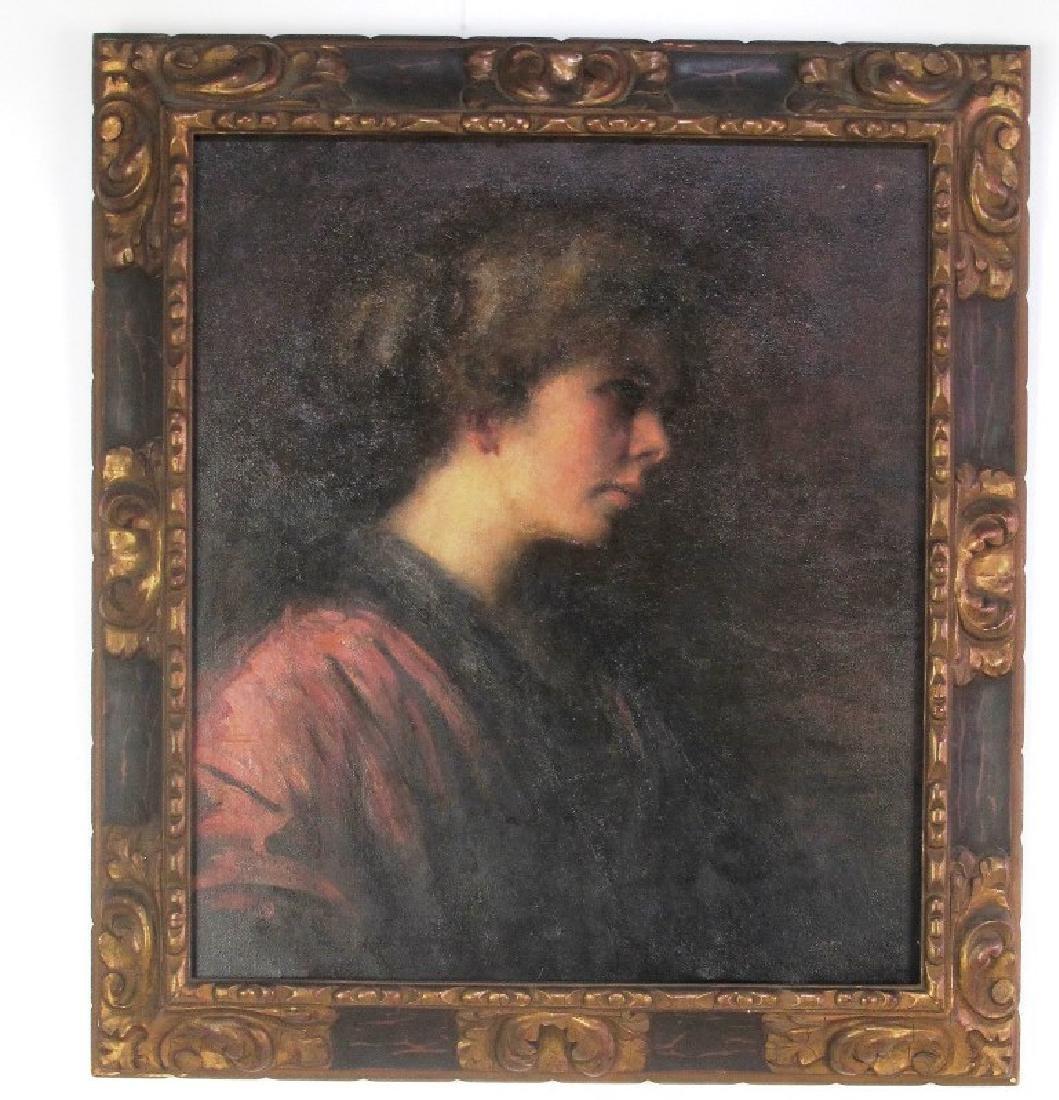 Elizabeth Piutti-Barth (1872-1959) Oil on Canvas