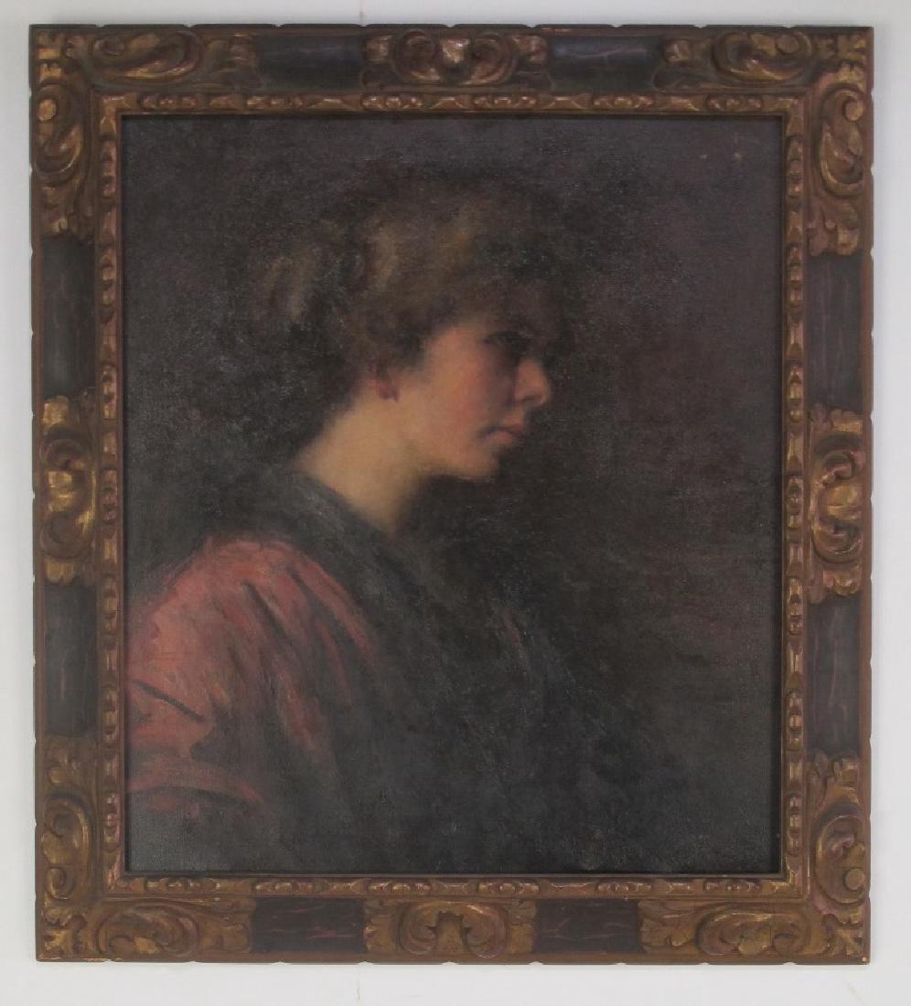 Elizabeth Piutti-Barth (1872-1959) Oil on Canvas - 2