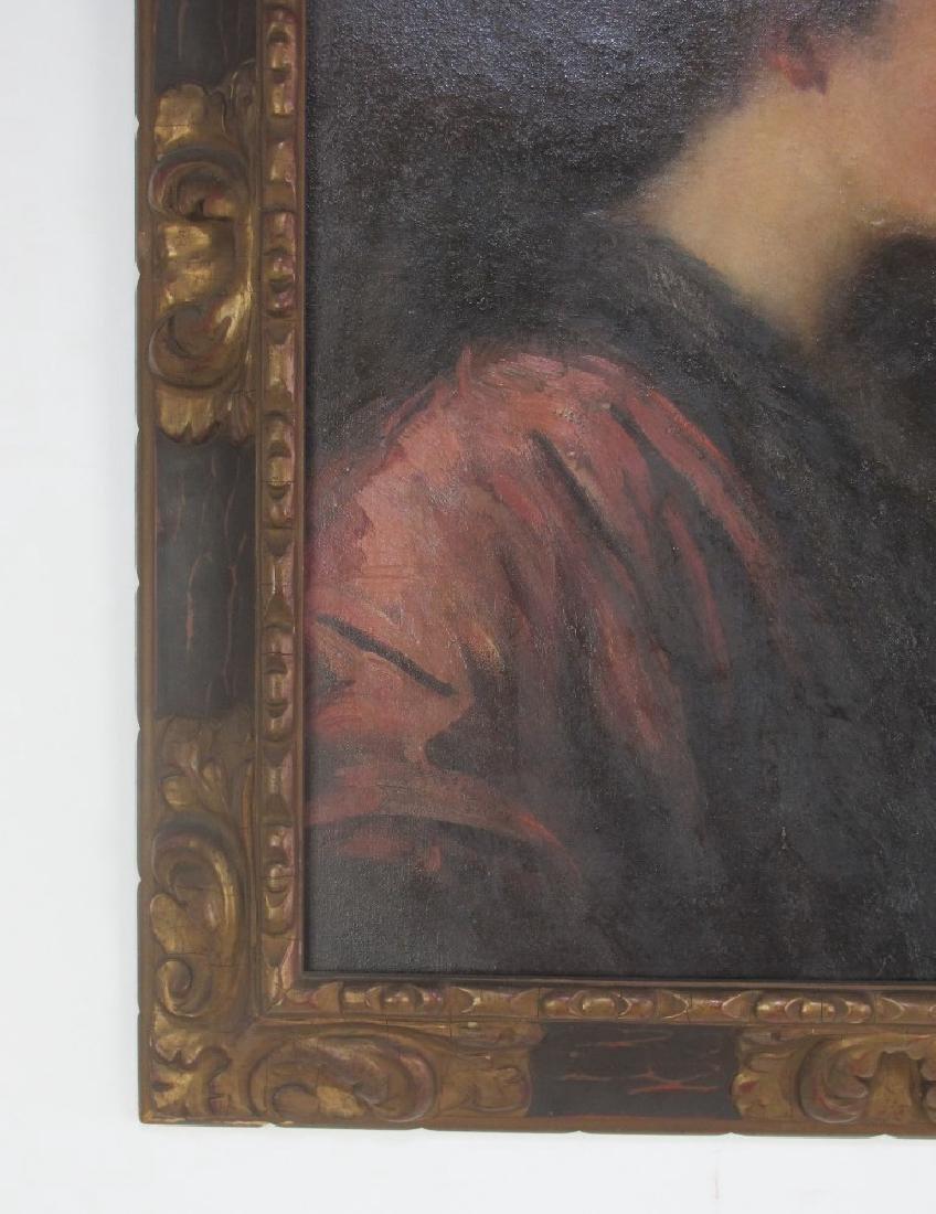 Elizabeth Piutti-Barth (1872-1959) Oil on Canvas - 3