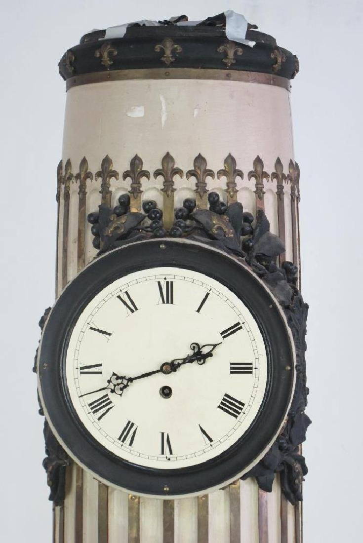 French Decorated Column Clock - 2