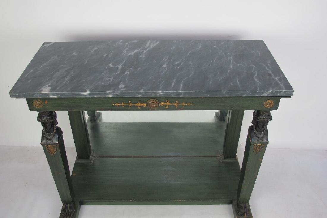 French Empire Period Console Table - 2