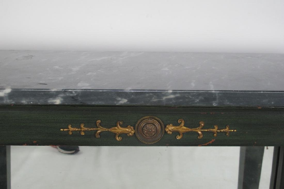 French Empire Period Console Table - 4