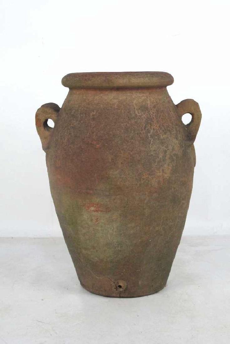19th C. Terra Cotta Olive Jar