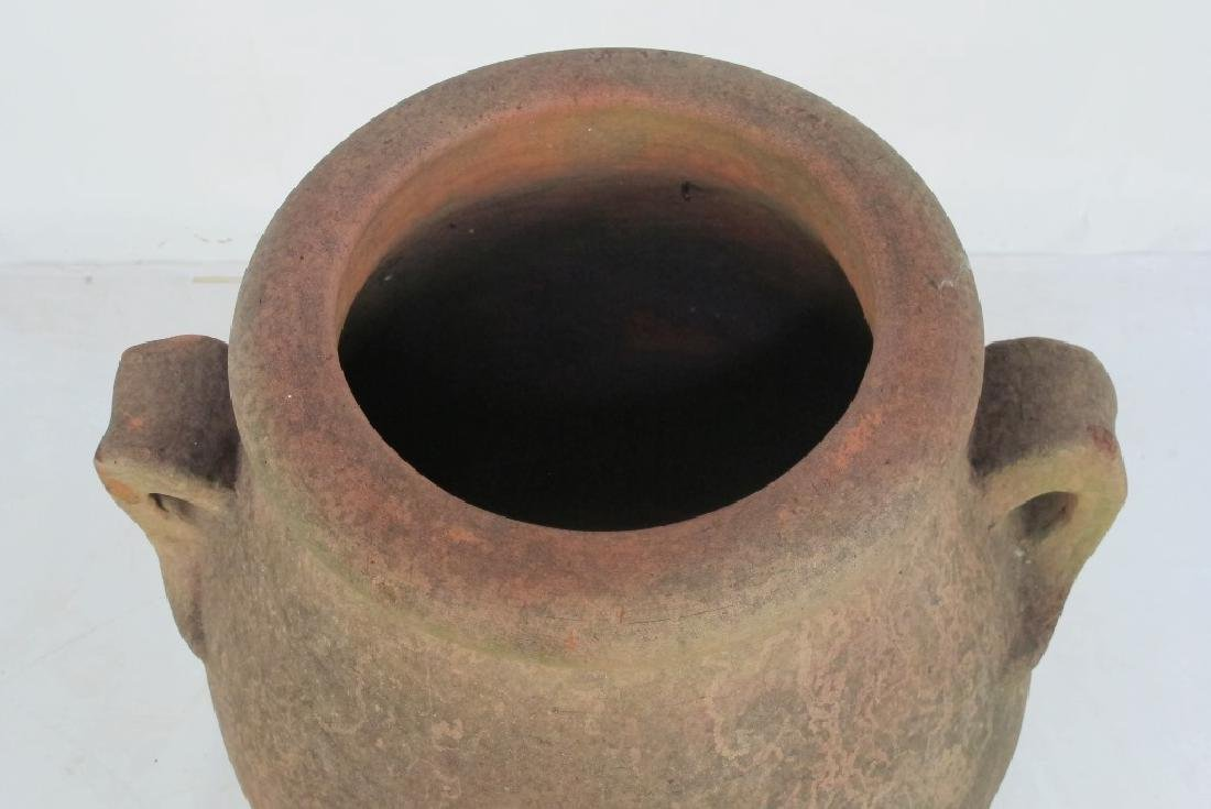 19th C. Terra Cotta Olive Jar - 2