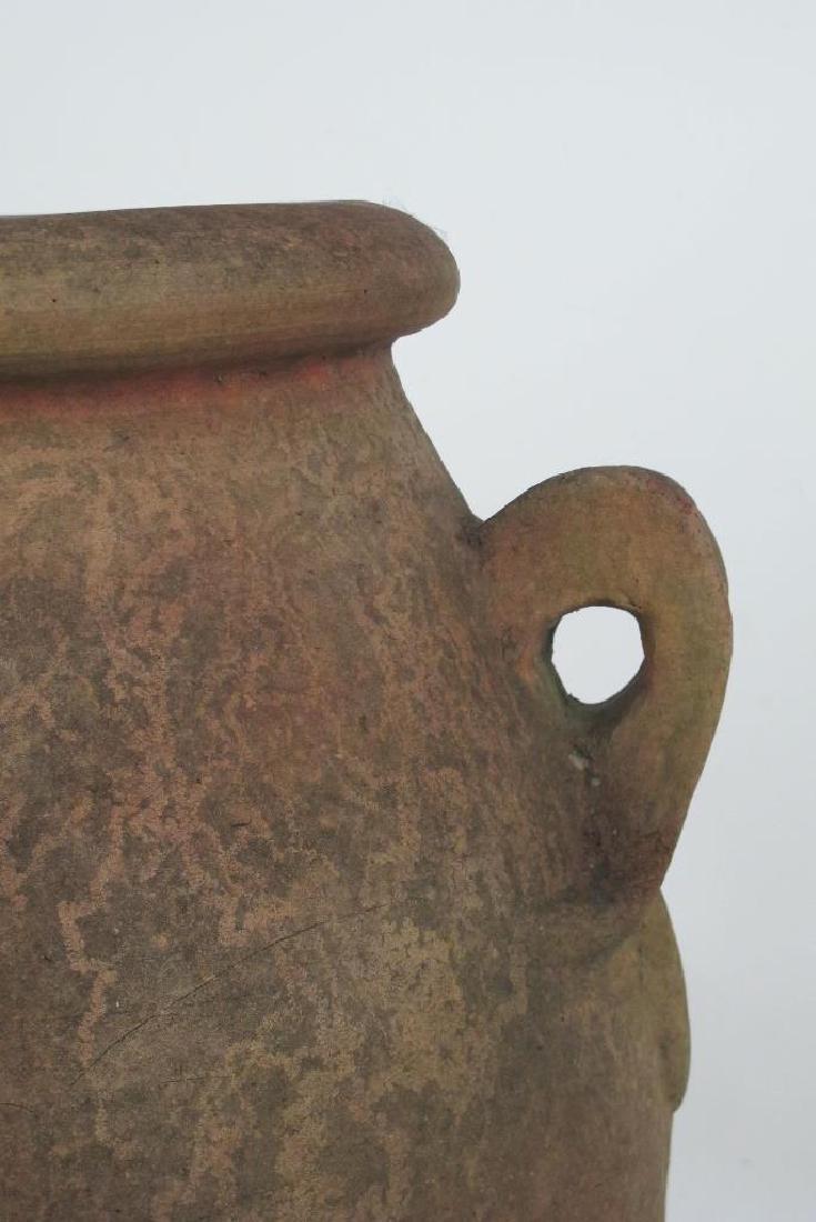 19th C. Terra Cotta Olive Jar - 3